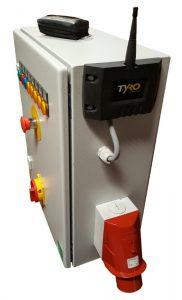 caja de control con Tyro Aquarius